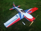 Avion Aeroplus RC Edge 540 V3.2 35cc 76'' rouge/bleu ARF env.1.92m