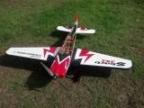 Avion Aeroplus RC Sbach 342 60'' Red cowl ARF env.1.52m