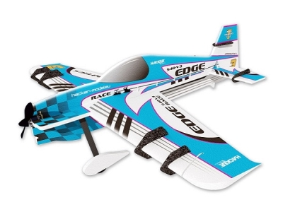 Avion Hacker model Edge 540 V3 bleu ARF env.1.00m