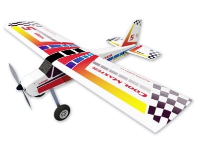 Avion Hacker model Cool Master Jaune ARF env.1.65m
