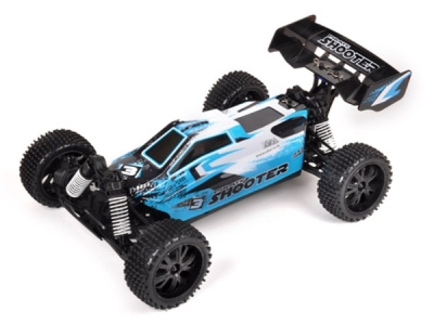 T2M Pirate Shooter bleue brushed 1/10e 4WD RTR