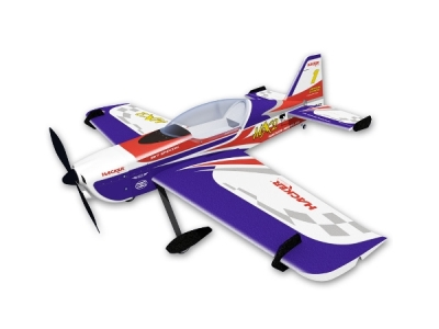 Avion Hacker model MX 2 bleu ARF env.1.20m