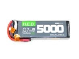 Batterie Dualsky HED, lipo 3S 11.1V 5000mAh 30C/5C