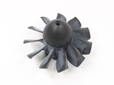 Rotor 11 pales + cone pour turbines 90mm TAFT