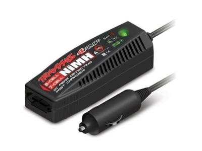 Traxxas Chargeur 12V NiMh 4A 7,2-8,4V prise ID 2975