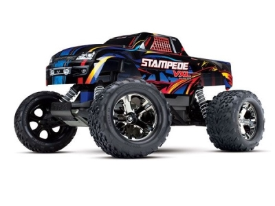 Traxxas Stampede 2WD Rock N Roll VXL ID TSM RTR (Sans accu/chargeur) 36076-4
