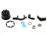 Traxxas corps de differentiel + joints et supports 5681