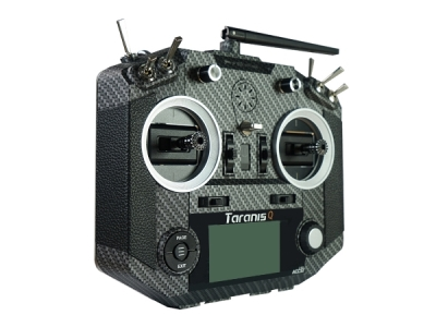 Taranis Q X7S 16 Voies Carbone 2.4Ghz Frsky Mode 2