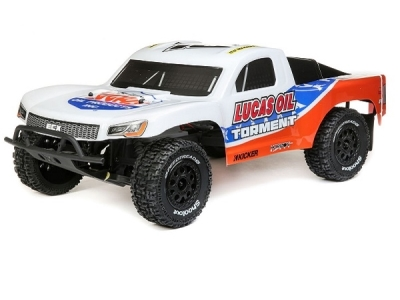 Torment Short Course blanc/orange1/10e 2WD RTR ECX RC
