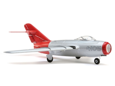 Jet E-flite Mig-15 28mm EDF BNF Basic AS3X / Safe Select env.0.41m