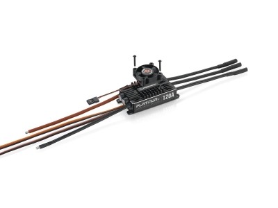 Controleur Brushless 3-6S 120A Platinum V4 HOBBYWING