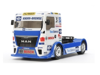 Truck MAN TGS Team Hahn Racing TT01E Tamiya