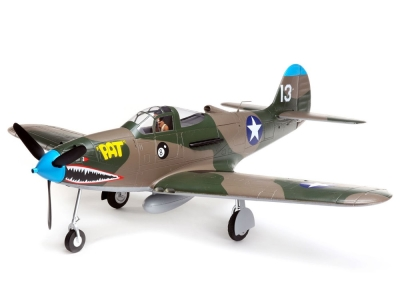 Avion E-flite P-39 Airacobra AS3X/Safe Select BNF basic env.1.20m