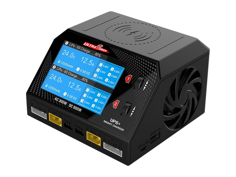 Chargeur_UP6_Duo_2X300W_12V_220V_Ultra_Power