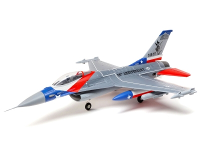 Jet E-flite F-16 Falcon 64mm EDF BNF Basic AS3X / Safe Select env.0.73m