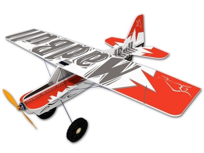 Avion Hacker model Mad Bull rouge ARF env.0.92m