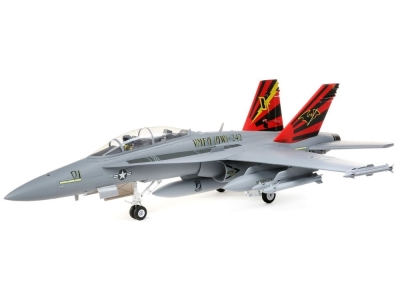 Jet E-flite F-18 80mm EDF BNF Basic avec AS3X and SAFE Select