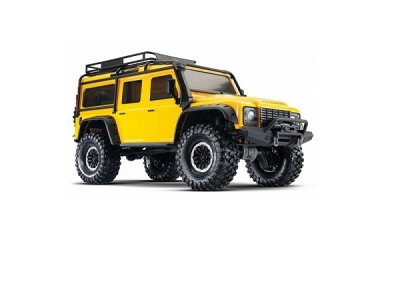 Traxxas TRX-4 Defender Jaune Scale crawler RTR