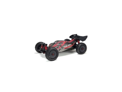 ARRMA Body Painted w/Decals Typhon 6S Black/Red - ARA406120