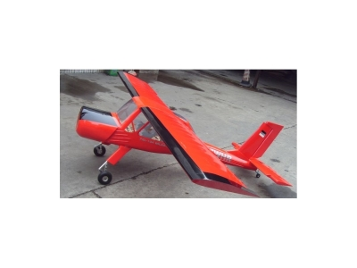 Avion East Rc Model Wilga 88 35cc rouge ARF env.2.25m