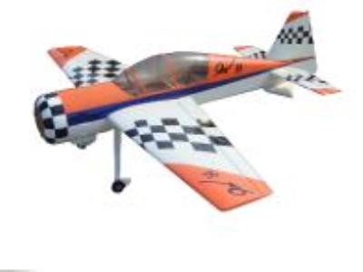 Avion East Rc Model Yak54 74 30cc orange/blanc ARF 1.85m