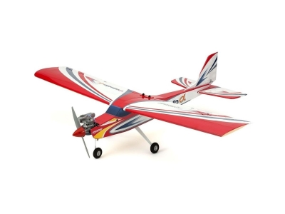 Avion Kyosho Calmato Alpha 40 trainer rouge env.1.60m - entoilé Toughlon