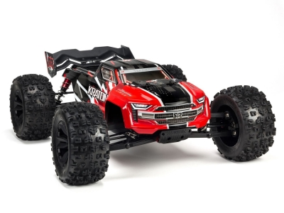 ARRMA 1/8 KRATON 4WD BLX Speed Monster Truck 6S RTR, rouge