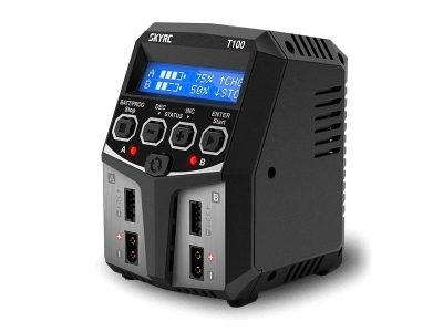 Chargeur Sky RC T100 Duo 2x50W 2-4S 220V SKYRC