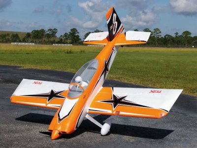 Avion Premier Aircraft RV-8 Super PNP orange avec Aura 8 env.1.92m