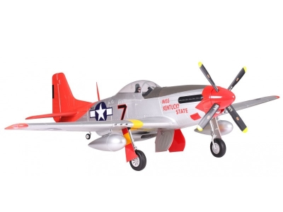 Avion FMS P51 Red Tail PNP env.1.70m