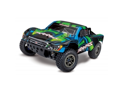Traxxas Slash 4x4 vert LCG Ultimate VXL TQi TSM Bluetooth ID RTR 68077-4