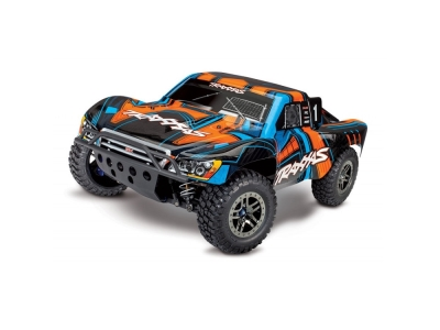 Traxxas Slash 4x4 orange LCG Ultimate VXL TQi TSM Bluetooth ID RTR 68077-4