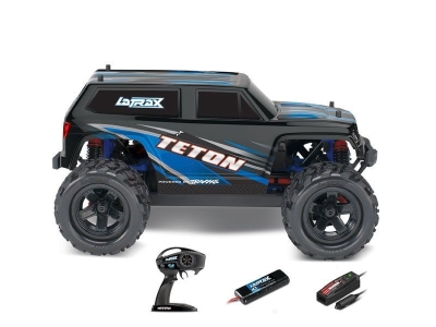 LATRAX Teton Bleu 4WD brushed Radio 2.4Ghz RTR 76054-1-BLUE