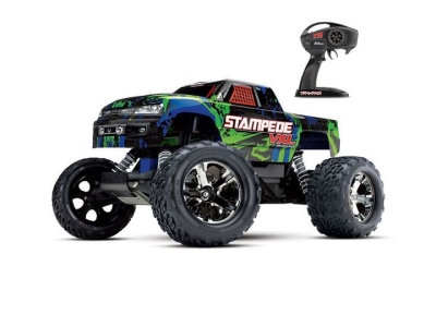 Traxxas Stampede 2WD Vert VXL ID TSM RTR (Sans accu/chargeur) 36076-4