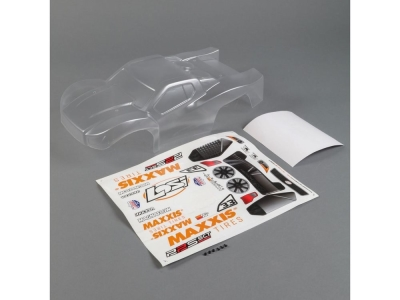 LOSI - Body Set, Clear: 22S SCT