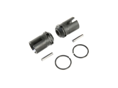 LOSI - F/R Center Drive Dogbone Coupler (2): 5ive-T 2.0