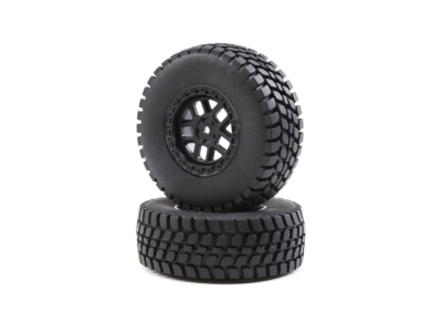 LOSI - Alpine Wheel and Tire Mounted (2): BR