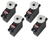 LOT de 4 Servos Mini Hitec HS-81