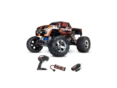 Traxxas Stampede Orange 2WD Brushed Radio (avec accus / chargeur)