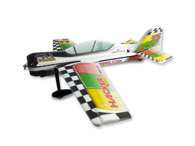 Avion Hacker model SU-Preme ARF env.1.20m rouge/vert/jaune