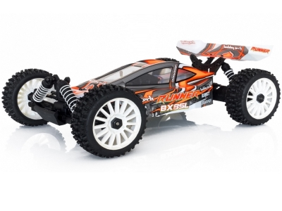 BX8 Runner Orange type SL brushed 1/8 4wd RTR Hobbytech