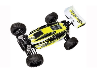 T2M Pirate Stinger brushed Jaune 1/10e 4WD RTR