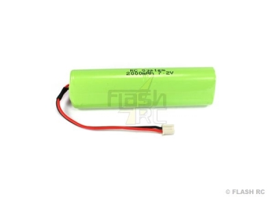 Batterie Tx Hitec 7.2V 1300 mAh NiMh pour OPTIC 6 SPORT