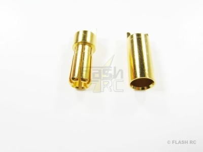 Prise OR 5,5 mm M/F (1 paire)