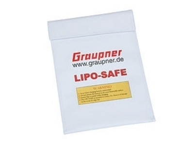 Sac de protection Lipo-SAFE Graupner 18x22cm