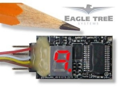 3-Axis G-Force MicroSensor 7+Gs Eagle Tree