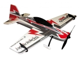 Avion RC Factory Sbach 342 Backyard Series rouge/noir env.0.80m
