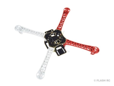Chassis F450 DJI Innovations rouge&Blanc