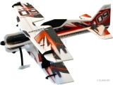 Avion RC Factory Crack Pitts Backyard Series rouge/noir env.0.80m